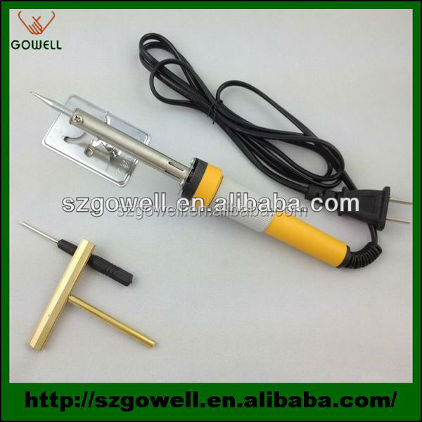 Professional Manual welding soldering iron with Gold iron screwdriver blade for cell phone remover glue