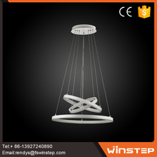 Good selling Modern three Rings Fixture led ceiling Pendant Light