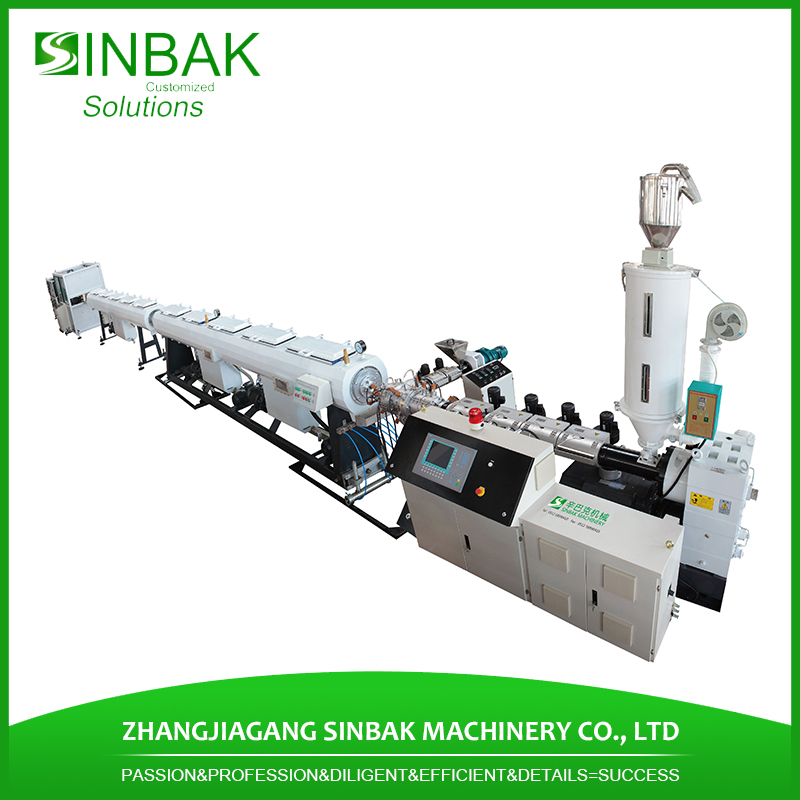 hdpe pe ppr pipe production machine