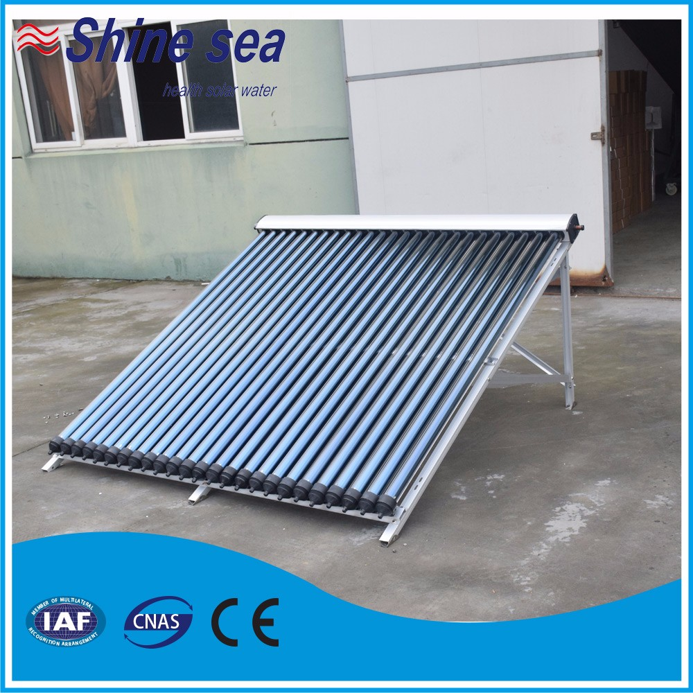 Haining green technology evacuated heat pipe solar thermal collector price
