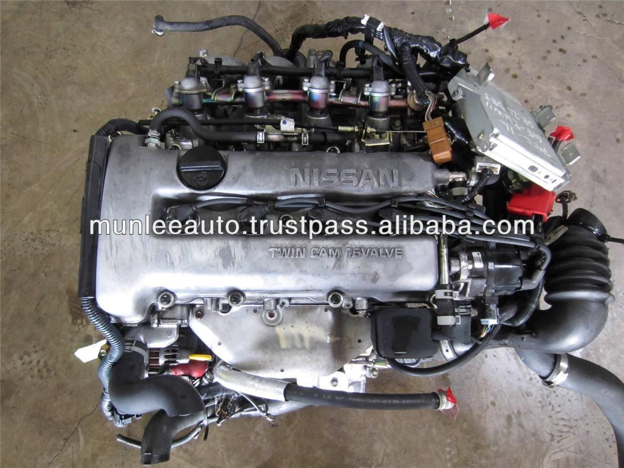 JDM USED ENGINE for vehicle SR20DET NISSAN AVENIR GT SENTRA B13 200SX INFINITI G20 SR20 TURBO FWD
