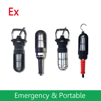 C1D1 Hazlo Explosion Proof LED Search Light with Rechargeable function for Outdoor Indoor