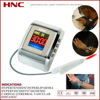 Cold laser therapy blood pressure range control device