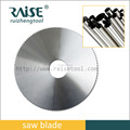 tct round saw blade for aluminum and Stainless steel