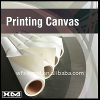 Wide Format Roll Inkjet polyester canvas oil paint by numbers
