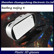 2016 New Baofeng Mojing 4 VR Glasses Virtual Reality 3D Glasses 3D Movies 3D Pictures VR Headset For Iphone Samsung Smartphone