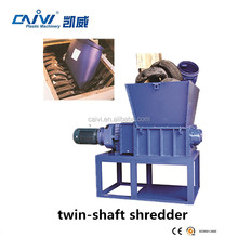 used tire shredder machine for sale/waste plastic shredder machine