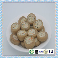 dry chicken cheese and vegetable sushi pet food