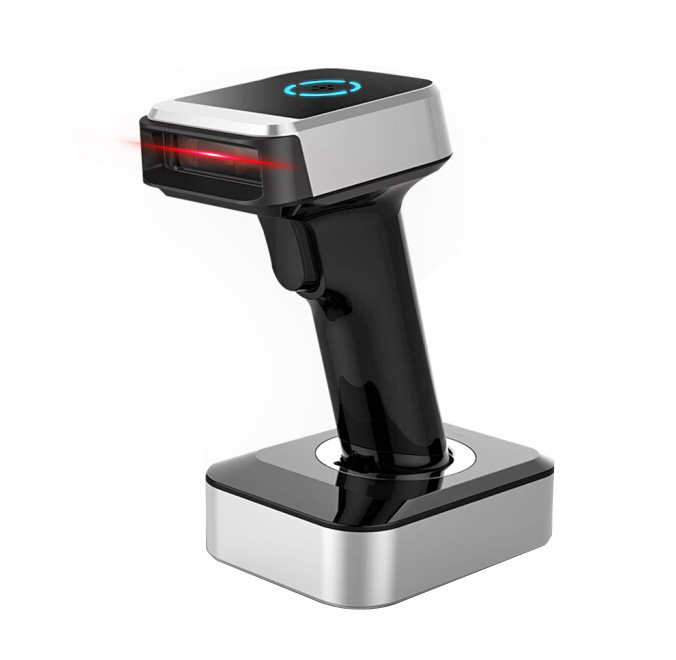 BaoShare BE68BD 2.4G QR Code Reader Module Price 2D Wireless Bluetooth Barcode <strong>Scanner</strong> With Charging Base