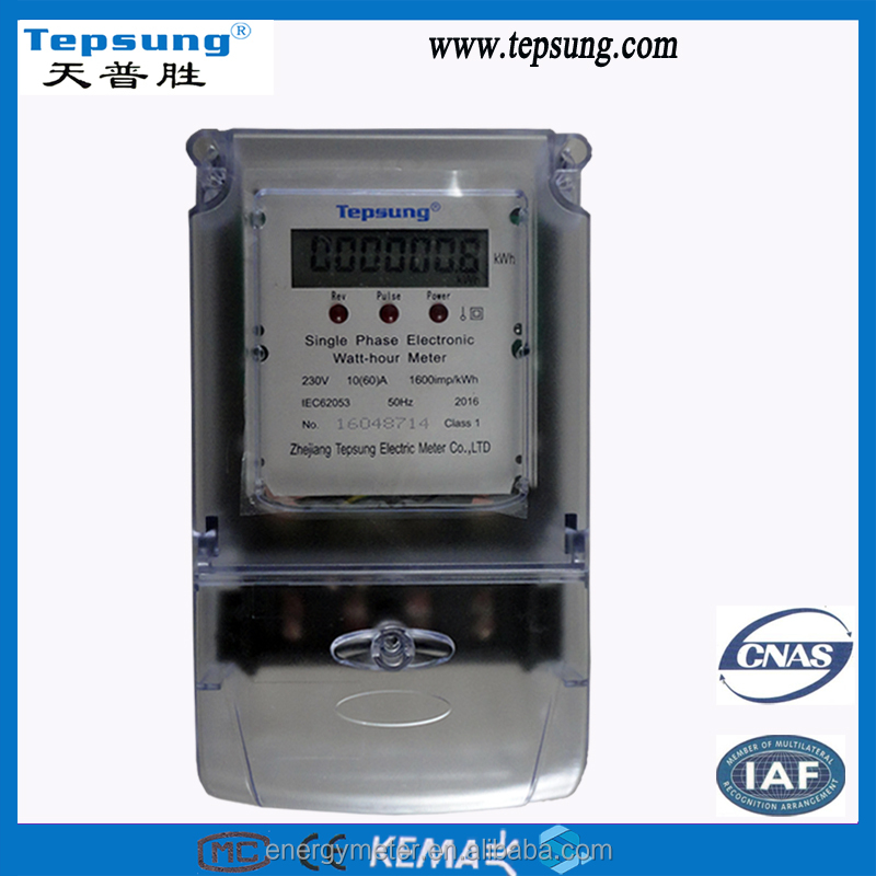 LCD Display Newly Designed High Demand Electronic Smart Meter kwh Meter
