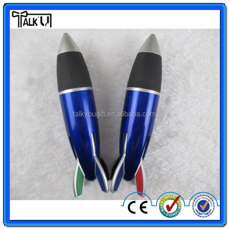 Advertising fat rocket shaped ball point pen, promotion ball pen