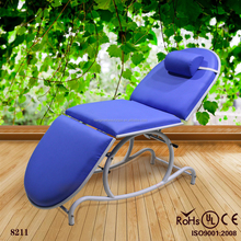 Choyang massage bed price/beauty salon bed/portable facial bed KM-8211