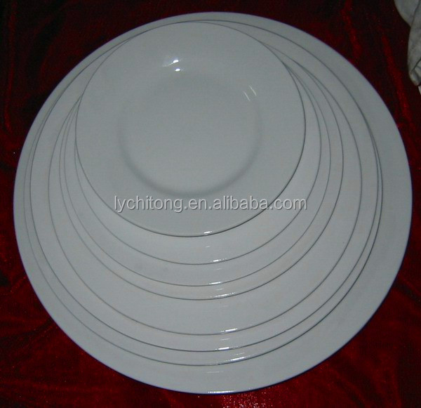restaurant ceramic plates dishes,ceramic microwave dish plate, custom logo ceramic plate dish
