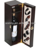 Sing bottle wine carrying case with accessories