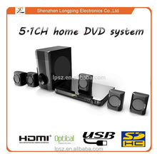 Shenzhen Manufacturer of 5.1CH home theater music system