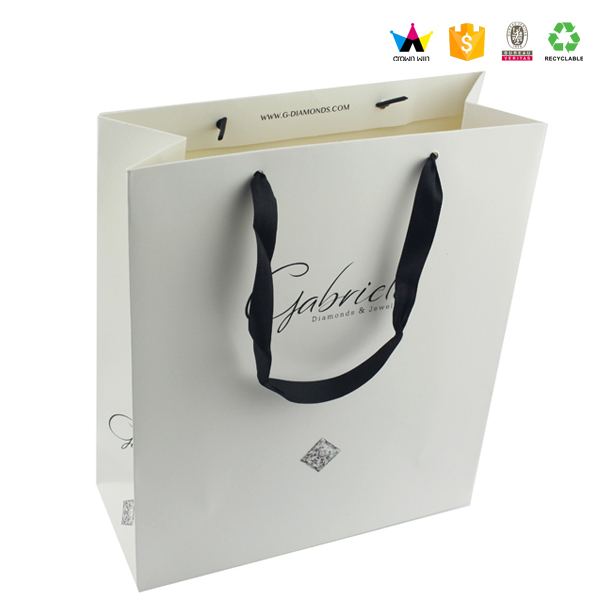 Custom High-End Paper Bags With Your Own Logo