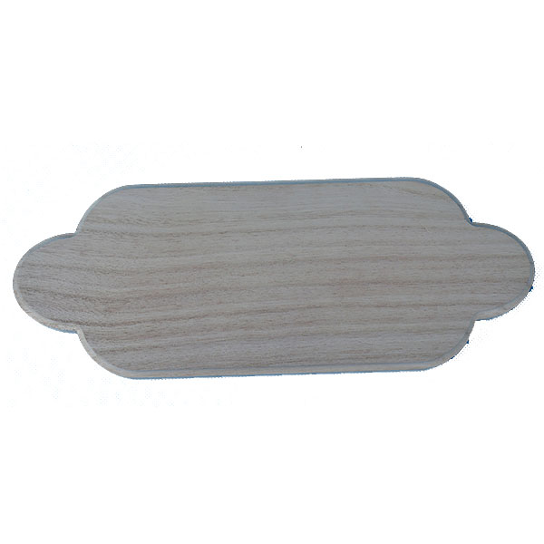 Unfinished Wholesale Pine wooden plaque in Assorted Styles