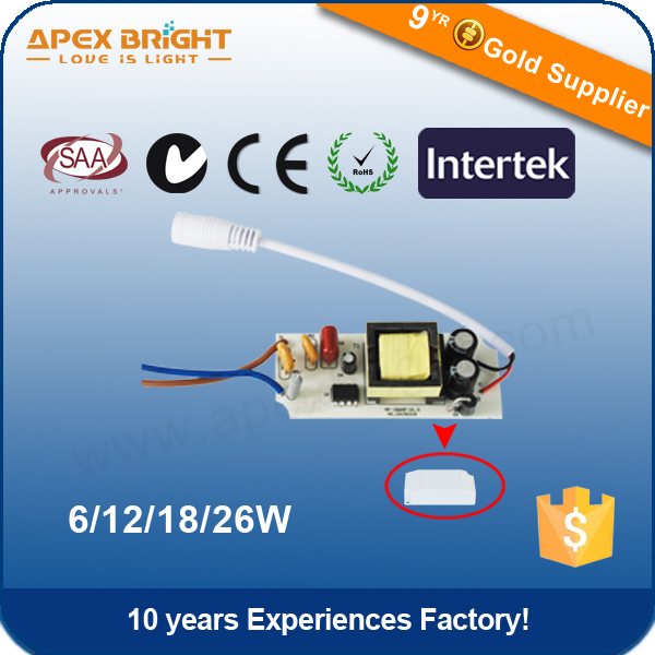 300mA 18w certificate led high quality driver,constant current