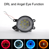 car Auto parts angel eyes head lamp led fog lights for BMW E36