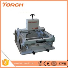 T1000 Manual high precision screen printing machine,manual template printer