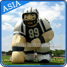Inflatable Rugby Player, Inflatable Lawn Football Player Character Cartoon for Advertising, Famous Men Soccer Players