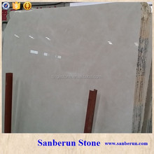 Top grade Aran White marble slab for Kitchen top