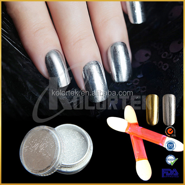 Chrome pigment powder mirror effect for nail polish, mirror pigment china supplier