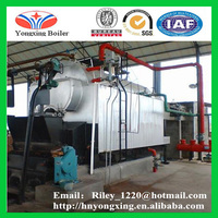 DZL Automatic Horizontal industrial ftb steam boiler