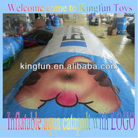 Printing inflatable water blob/aqua jumping pillow with LOGO