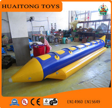 cheap solo inflatable banana boat inflatable water tube for promotion