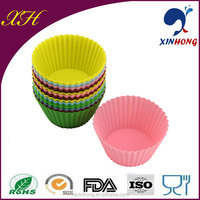 6/12 Pcs Silikon Tea Cupcake Set & Cup Cake Moulds SCP-01