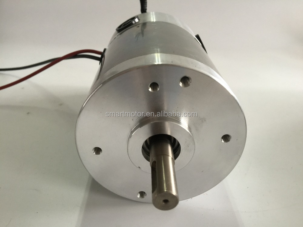 90ZYT02 high torque and power 12v / 24v / 48v Dc Motor, rated 4000rpm 1.5Nm, 650w