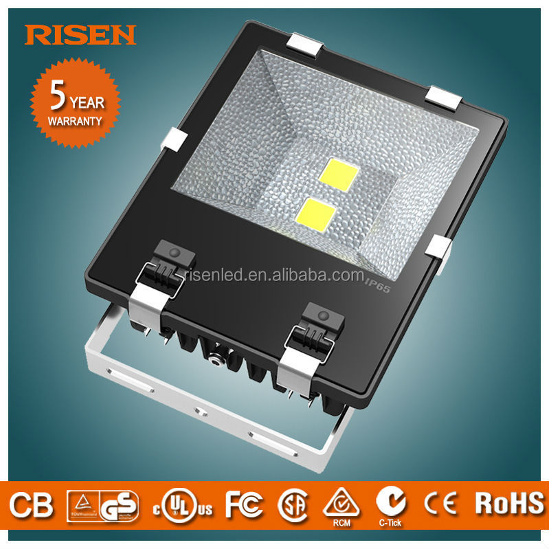 SAA CE Rohs IEC New design Factory price 100w soccer ul 12v pir led flood light