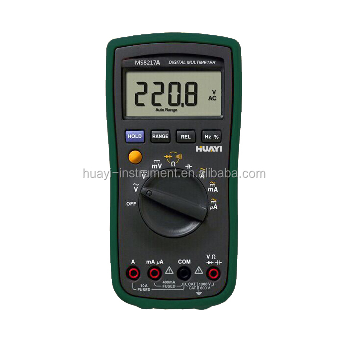 Handheld MS8217A Digital Multimeter with Temperature Test -55C to 1000C