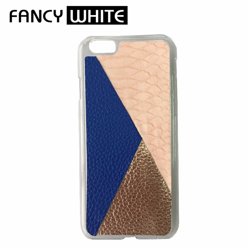 Oline own design patchwork plastic cell phone covers and cases