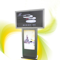 "2017 exhibition 43"", 49"", 55"", 65"" 1920*1080 FHD windows 10 floor stand digital signage / lcd touch screen advertising display"