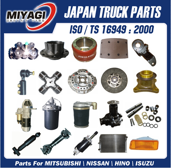 Reliable Quality Over 1000 Items HINO Truck Spare Parts