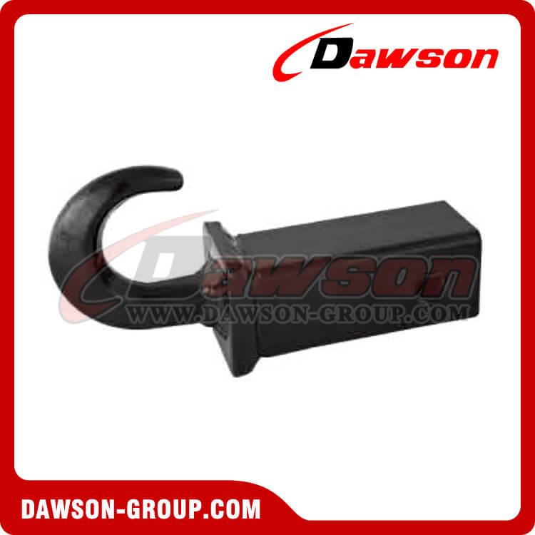 Receive mount tow hook trailer accessories for ball mount