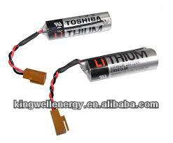 For Toshiba ER6V Lithium 3.6V Cylindrical Battery used for backup power