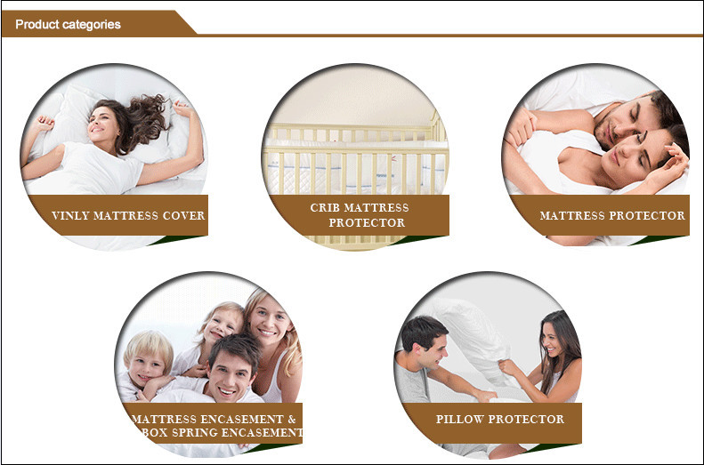 Professional fitted bug mattress protector with great price