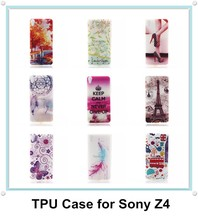 Custom Printed Hard Plastic Mobile Phone Case Cover Protective Bag for Sony Xperia Z4