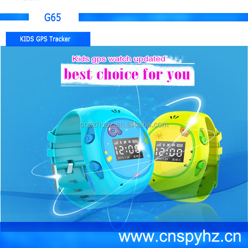 Touch Screen GPS WiFi watch phone Wearable Smart GPS Watch Phone, kids Wearable Android Watch Phone G65