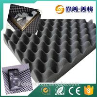 China wholesale promotion egg crate soundproof acoustic studio foam