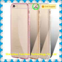 TPU diamond transparent clear doraemon case for samsung