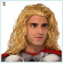 Cheap Mens Synthetic Adult Thor Avengers Cosplay Wigs HPC-1173
