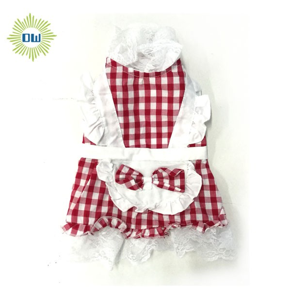 Pretty Dog Clothes Pet Dress Cute Style