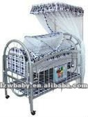 2012 new model iron baby bed