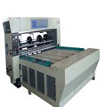 semi-auto four-knives die cutting carton machine,corrugated machine