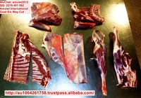 Australian Goat Meat Frozen Halal Six Way Cut