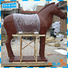 Chinese factory price terracotta horse statue life size